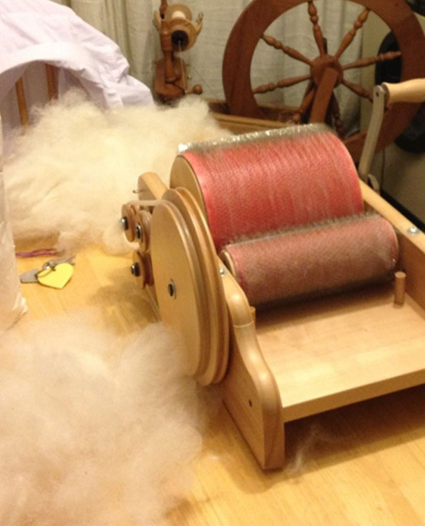 Fleece to Yarn