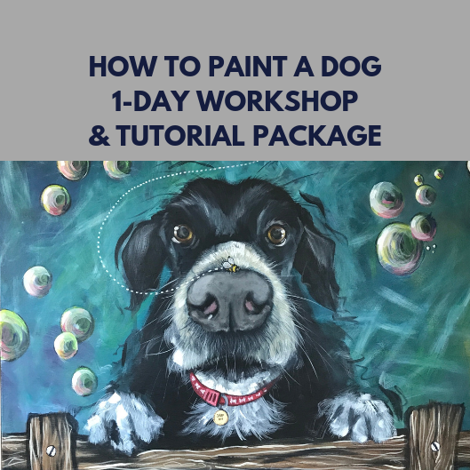 How to Paint your Dog